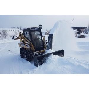 Снегометатель шнекороторный