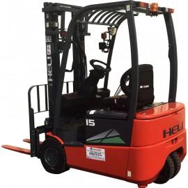 HELI Погрузчик электрический CPD15SQ-GB2 (P) (3-х опорный) 1,5 тонны