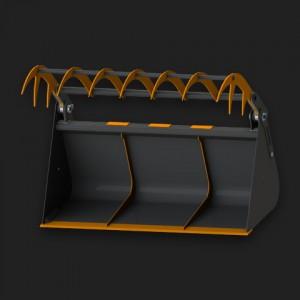 Ковши с прижимом
