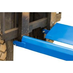 Насадки на вилы для перевозки цилиндрических грузов или рулонов