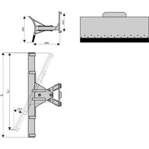 Снегоотвальное оборудование (крепление на каретку)